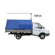Тент на Газель ГАЗ 3302 (увеличенную в высоту на 20 см, 30 см, 40 см или 50 см)